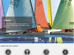 creation de site Internet de voile