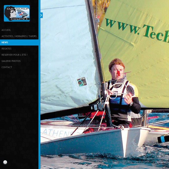 creation site Internet de voile